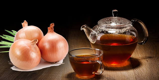 onion tea in hindi