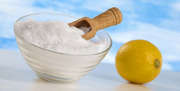 lemon-baking soda
