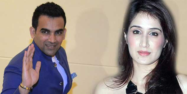 Zaheer Khan and Sagarika Ghatge in hindi