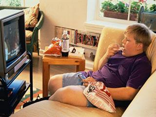 अधिक टेलीविजन देखने से बढ़ता है मोटापा