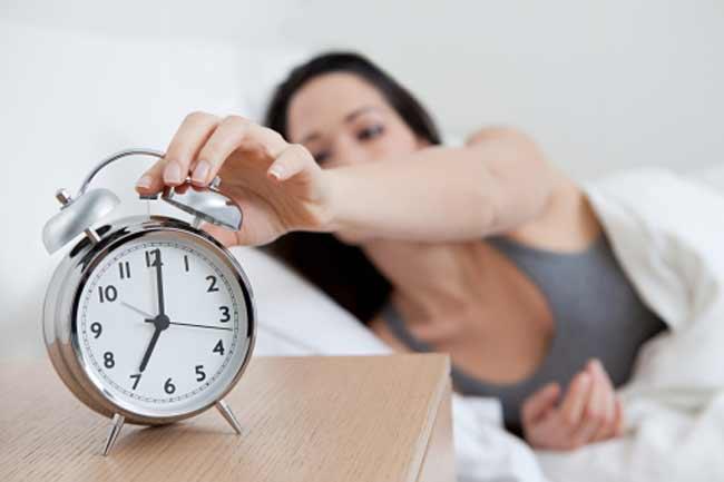 भरपूर नींद न लेना