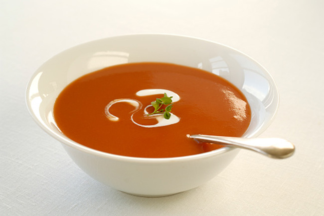 टमाटर सूप या कच्ची प्याज