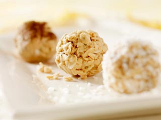 Power pack balls with oats and sesame seeds recipe