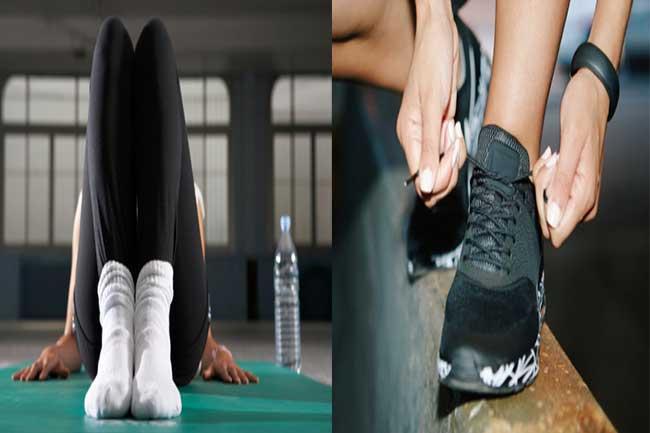 जूते व बम्बास जुराबें