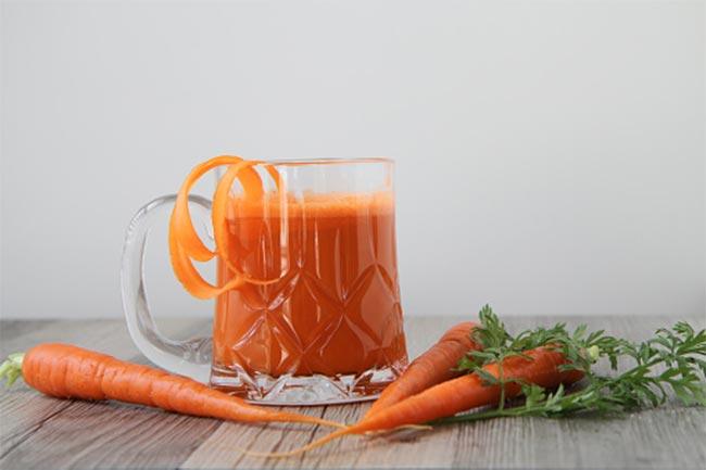 अदरक और गाजर का सूप