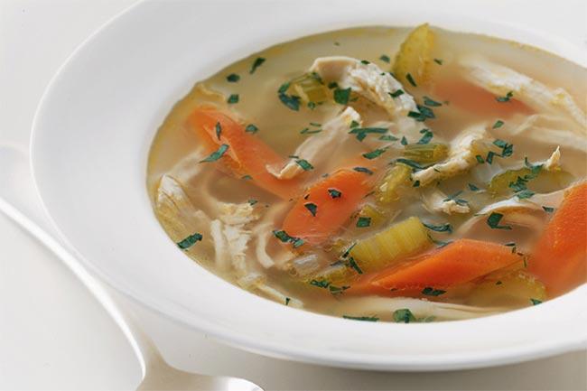 चिकन वेजिटेबल सूप