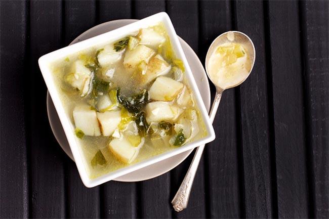 आलू और सौंफ का सूप