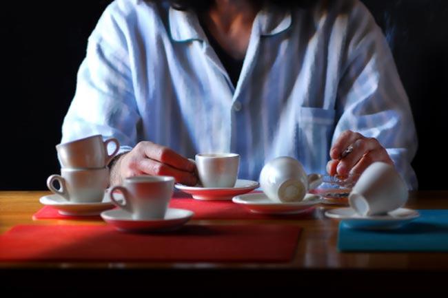 कैफीन और एल्कोहॉल