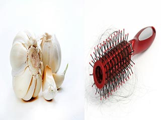 How to treat hair loss problem with garlic