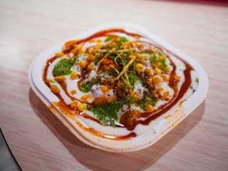 Homemade quick papdi chaat recipe