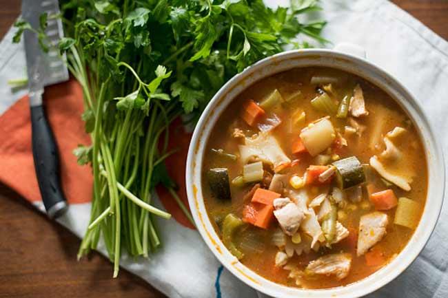 हाई कैलोरी सूप