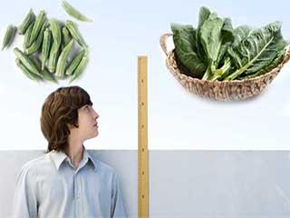 सब्जियों से बढ़ाएं किसी भी उम्र में हाईट