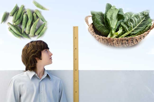 सब्जियों की मदद से बढ़ाये कुछ इंच लंबाई