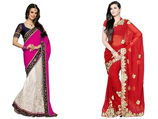 6 Very easy ways to look slim in a saree