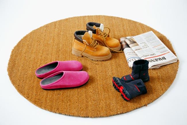 गार्डन बचाएं व गीले जूते सूखाएं