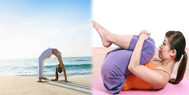yoga for hair in hindi
