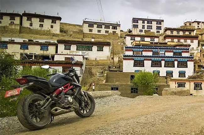 एशिया का सबसे ऊंचा वाहन चलाया जा सकने वाला गांव