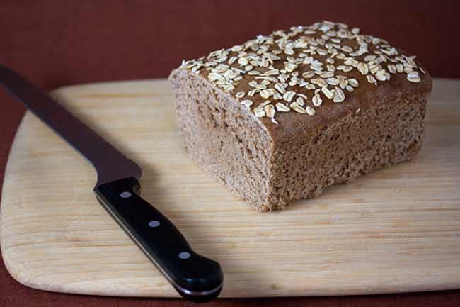 नटी ब्रेड में प्रोटीन है भरपूर