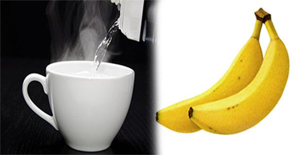 banana and warm water in hindi