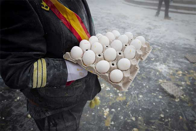 चीज़, अंडे और कॉर्नफ्लेक्स