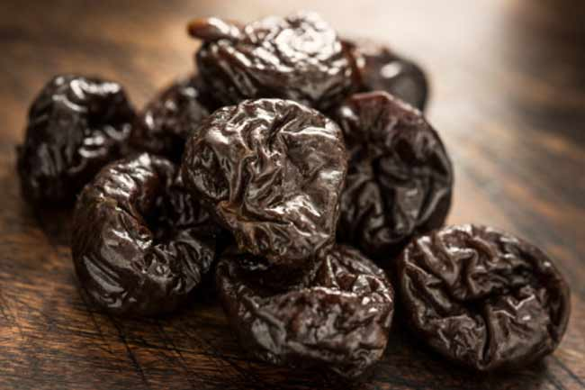 Prunes make you poop