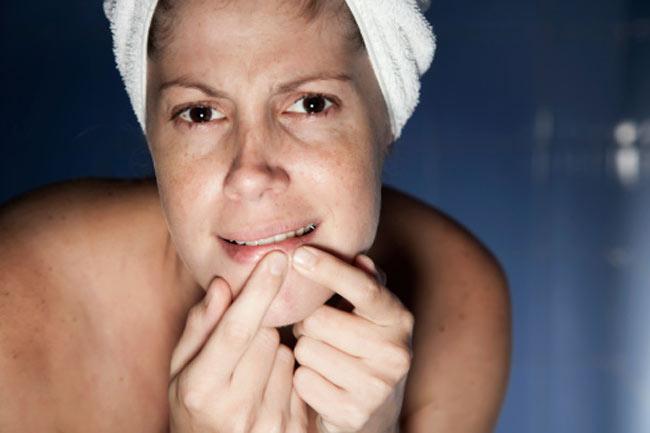 Skin problems worsen
