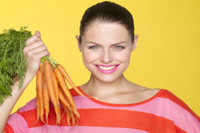 गाजर का त्वचा पर असर