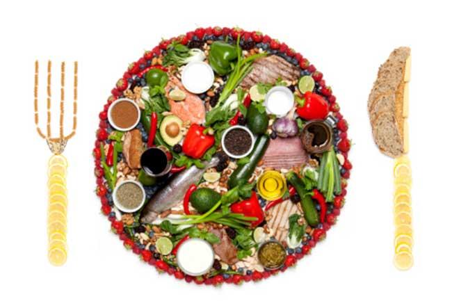 संतुलित आहार ले