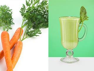 जानें क्या होता है जब आप पीते हैं गाजर और पालक का जूस