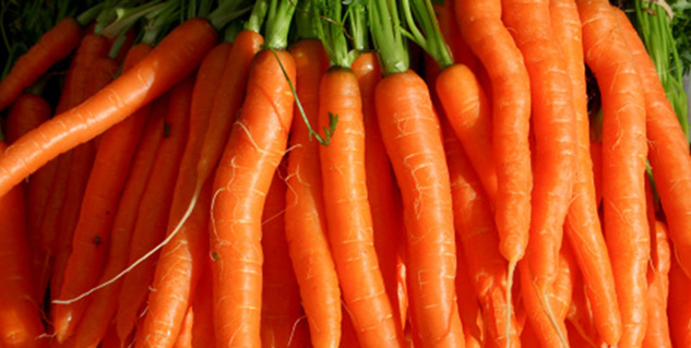 carrot in hindi