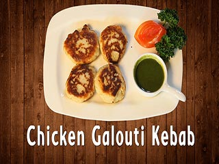 Chicken galouti kebab