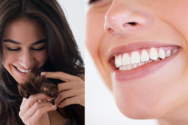 बालों और दांतों की सेहत के लिए अच्छा