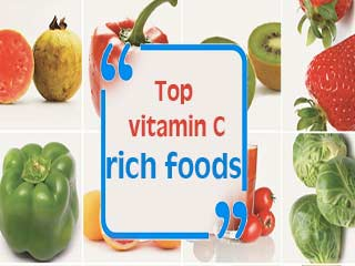 Top vitamin C rich foods