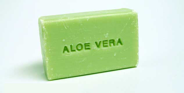 Method to make aloe vera soap in Telugu
