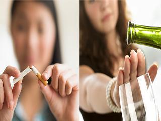 स्मोकिंग छोड़ने वाले शराब भी छोड़ देते हैं