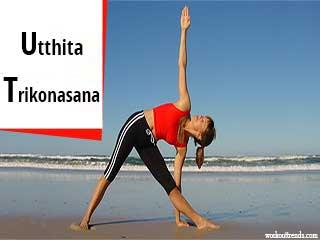 Ashtang Yoga - Utthita Trikonasana