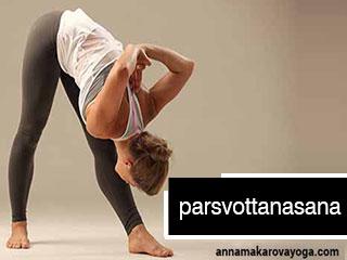Ashtang Yoga - Parsvottanasana
