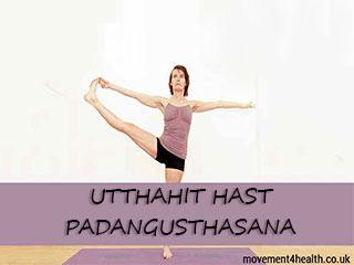 Ashtang Yoga - Utthahit Hast Padangusthasana