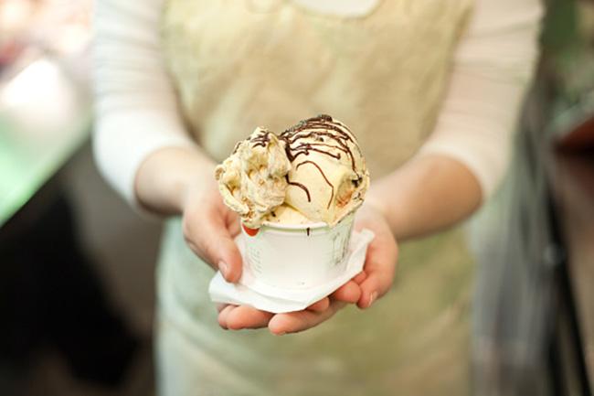 Savory ice-cream recipes
