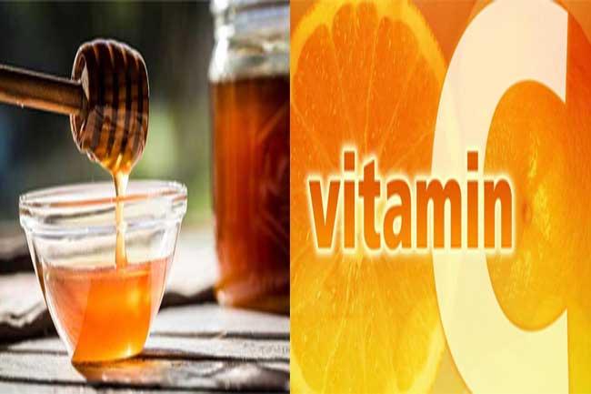 विटामिन सी और शहद