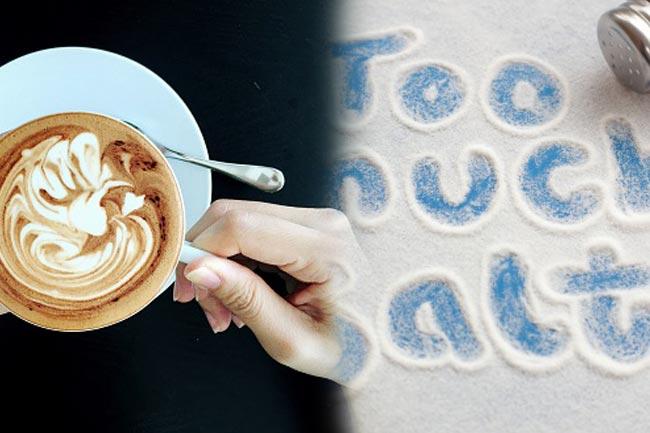 नमक और कॉफी के सेवन से बचें