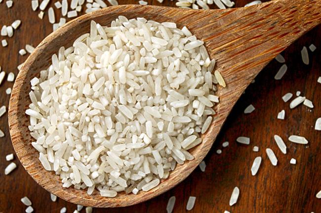 चावल का स्क्रब
