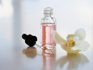 Flower oils for body massage