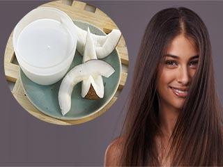 जानें, कैसे करें कोकोनट मिल्क पैक से बालों की स्ट्रेटनिंग