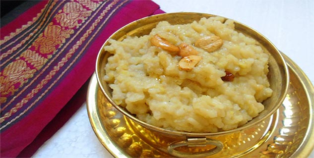 Healthy Millet Sweet Pongal in Hindi