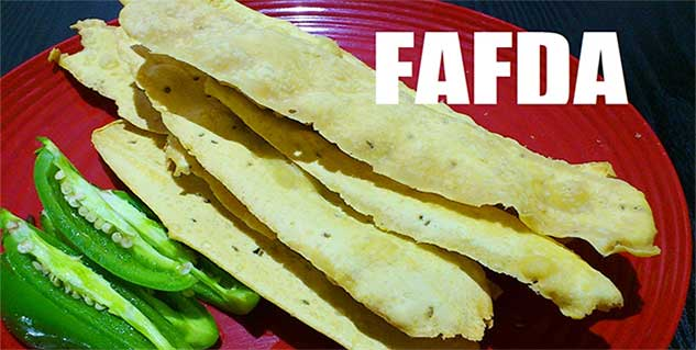 Gujrati Fafda Recipe in Hindi