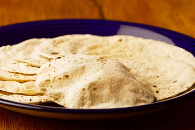 To make chapatis