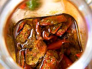 Banarasi red pepper pickle recipe