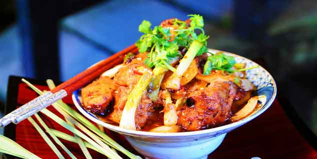 lemongrass chilli chicken in hindi