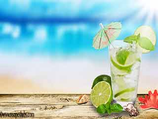 Cool buzz - refreshing summer drink